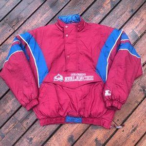 Vintage Colorado Avalanche Starter Jacket